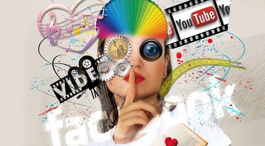 giải trí trên mạng xã hội