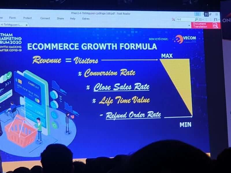 12 nội dung hay trong Vietnam Online Marketing Forum 2020