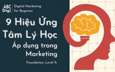 9 Hiệu Ứng Tâm Lý Học Ứng Dụng Trong Marketing
