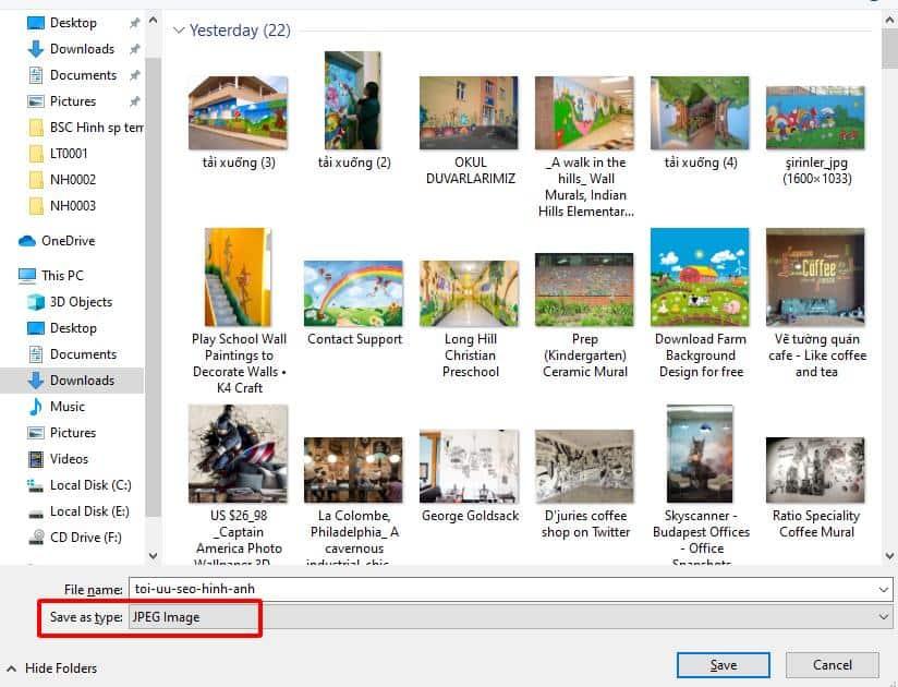 Chọn đúng file hình ảnh để tối ưu SEO