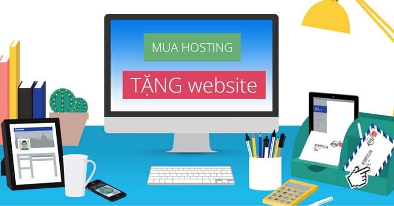 mua hosting tang website fb