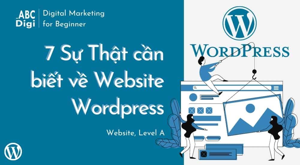 sự thật cần biết về website wordpress