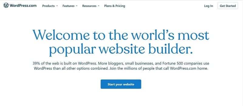 sự thật về website wordpress