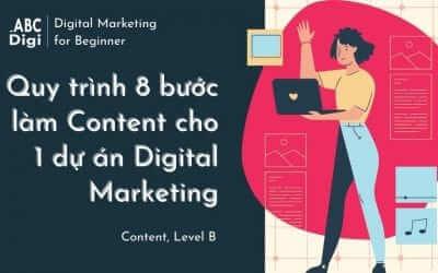 Quy Trình 8 bước Làm Content cho 1 dự án Digital Marketing